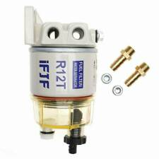 Fuel Filter / Water Separator 120At For Racor R12T Marine Spin-on