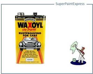 HAMMERITE WAXOYL RUSTPROOFING FOR CARS CLEAR   5 LITRE -  REFILL 5 L 5L