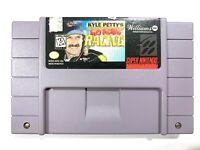 KYLE PETTY'S NO FEAR RACING Super Nintendo SNES Game Tested + Working!
