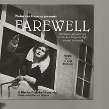 CD album FAREWELL - SOUNDTRACK of the LADY HAY ZEPPELIN FILM by DITTEKE MENSINK