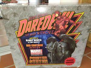 Bowen Designs Daredevil on Gargoyle Classic Red Costume Statue MARVEL MCU