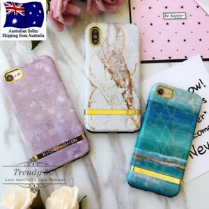 IPhone 6 6s 7 8 X Plus Marble Pattern Shockproof Heavy Duty Fashion Case Cover