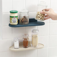 Wall-Mount Shelf Rack Bathroom Shower Organizer Holder Home Kitchen Storage Rack