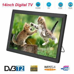 7'' 9'' 10'' 12.1'' 14'' DVB-T/T2 Digital TV Television HD 1080P USB HDMI AV