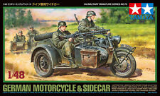Tamiya 32578 1/48 scale  German Motorcycle & Sidecar from Japan