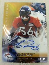 2015 Topps Platinum GOLD Shane Ray Rookie RC Auto 06/99 DENVER BRONCOS
