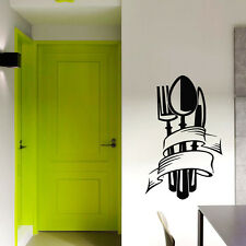 Kitchen Wall Decals Knife Fork Decal Spoon Vinyl Sticker Home Decor Art Chu512