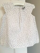Zara Baby Girl Dress, Pants And Cardi Outfit 6-9 Months RRP £34