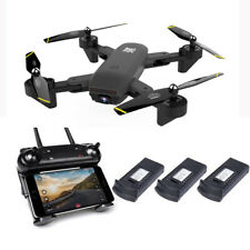 RC Drone With Camera HD 1080p Mini Foldable Dron FPV WiFi Drones Profess