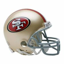 SAN FRANCISCO 49ERS RIDDELL VSR4 MINI NFL FOOTBALL HELMET