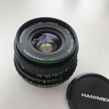 HANIMEX MC 28mm f2.8 Lens - M42 fit 'EXCELLENT + BOXED'
