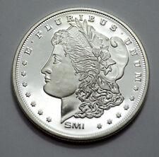 Sunshine Mint Morgan Design 1 Troy Oz .999 Fine Silver Round Mint Mark SMI