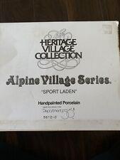 Heritage village collection Alpine Village Series Sport Laden