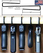 Safety Solutions For Gun Storage Pack of 5 Original Pistol Handgun Hangers (H...