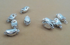New 10Pcs pearl necklace bracelet clasp
