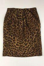emanuel ungaro Animal Print Pencil Skirt