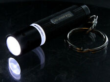 Led Lenser K1L Keychain Key Ring LED Flashlight, 15 Lumens, Black ,Brand New