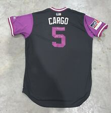 "Carlos Gonzalez ""CARGO"" Colorado Rockies 2018 Players Weekend Issued Jersey MLB"