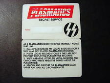 plasmatics-secret service members card usa 1980-super rare unused STIFF AMERICA