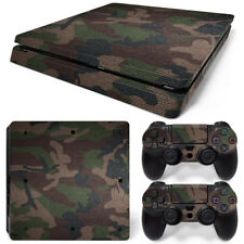 Camo Camouflage Army PS4 SLIM Decal Wrap Skin Sticker Console Controller