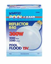 Satco  300 watts BR40  2960 lumens Soft White  Floodlight  Incandescent Bulb