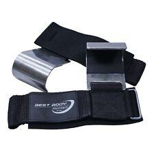Best Body Nutrition Zughilfe mit Stahlhaken Metallzughaken für schw. Zugübungen