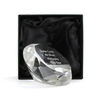 Personalised Paperweights Lots Of Shapes Personalised Engraving Free Gift Boxed*