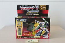 Transformers Japanese G1 C-102 Hardhead MIB Complete Takara Headmaster