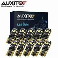 10X AUXITO T10 194 168 Canbus LED Wedge Parking Interior Dome Light Globes 6000K