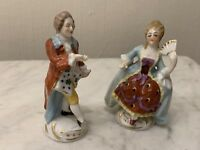 A Continental Porcelain Courting Couple