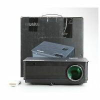 Wimius P18 Beamer Projektor LED 4500 Lumen 4000:1 FHD HDMI VGA... + NEU (230501)
