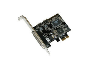 Masscool XWT-PCIE05 2-Serial and 1-Printer PCI Express Card - PCI Express x1, 2