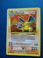 Pokémon Charizard Shadowless Base Set 4/102