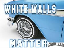 Hot Rod, Camper WhiteWall Coating Tyre Tire Paint