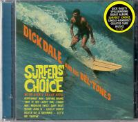 DICK DALE ~ Surfer's Choice~2006 US Sundazed label 18-trk CD album ~ FREE UK P+P