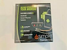 IS32 iSimple Tranzit USB Adapter Aux Input Android Universal FM Modulated