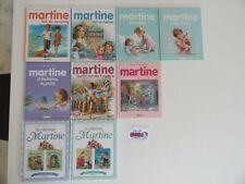 Lot de 9 livres Martine dont 2 à 2 histoires - Casterman (Qté modifiable)
