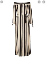 Seed Heritage Off-the-shoulder Stripe Maxi Dress - Size XS