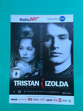 ►►Polish FLYER Tristan + Isolde Sophia Myles James Franco mini poster picture