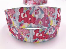 DIY5 Yard 1''Cartoon animation  Printed Grosgrain Ribbon Hair Bow Sewing