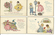 LOT OF 8 HAPPY BIRTHDAY SET PRE 1920