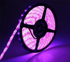 3528 led strip IP65 Waterproof pink color LED tape 60led/M 5M 300leds led light