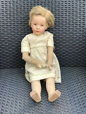 Muy vieja guerra-Jacinta Kruse-muñeca, Deutsches niño (?)