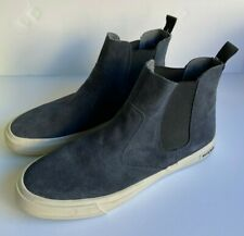 Seavees Coronado Navy Suede Mens sz 13 Slip On Casual Boots