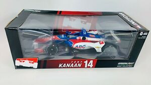 1:18 2019 Greenlight Tony Kanaan #14  ABC Supply AJ Foyt Racing  IndyCar Diecast