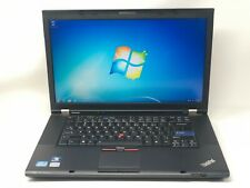 "Lenovo Thinkpad 15"" T520 Core i5 2.6GHz 16GB 256GB SSD 1600x900 WiFi Win7 Laptop"