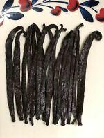 10 Grade A Tahitian Vanilla Beans [4 inches]