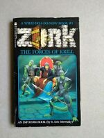 Zork The Forces of Krill Librogame Libro Game