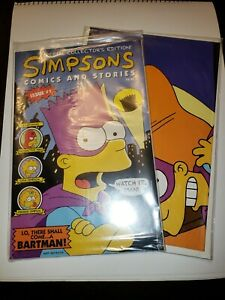 Simpsons #1 Comics and Stories - Collector Special Issue w/ Poster 9.4-9.6