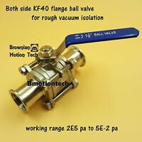 """110124-001 1/"""" Armstrong Isolation Flange Ball Valve"""